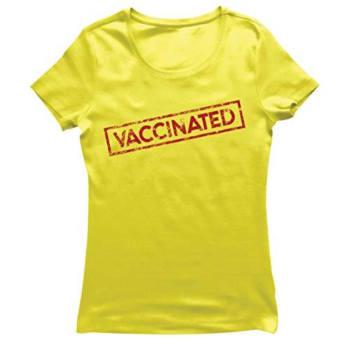 lepni.me Camiseta Mujer Las Vacunas Salvan Vidas en 2021 Concienciación Equipo