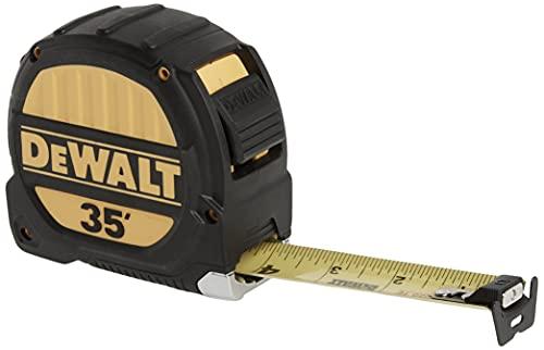 dewalt measuring tapes DEWALT DWHT33976L 35 foot Tape Measure, 1-1/4 Inch Blade