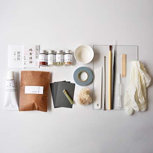 金継ぎ 金繕いセット urujyuの金継セット(Standard)〔全22種〕 本物の漆を使った修理セット
