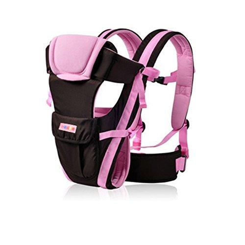 Uvistar Ajustable Mochila PortaBebes Infantil del Bebé Recién Nacido Portabebes Baby Carriers Backpack Comodo y Seguridad