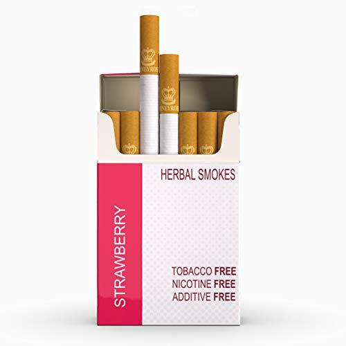 Honeyrose - Strawberry Herbal Cigarettes | 20cigarettes