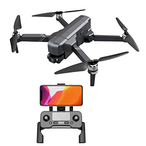 XinC Folding GPS Drone, 2-Axis+ 4k Drone, Auto Return Home,Image Tracking, 30 Minutes Flight Duration, Altitude Hold, for Beginners, Including Handbag,Drone