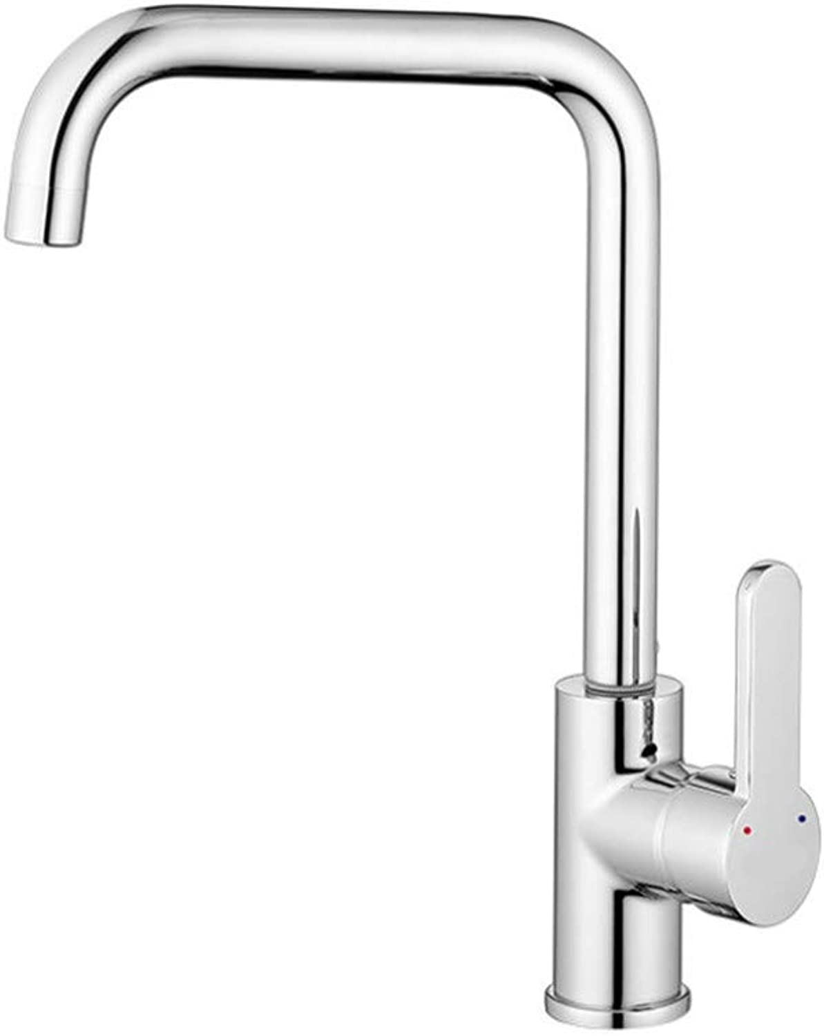 Basin Faucetcool and Hot Water Faucet in Kitchen