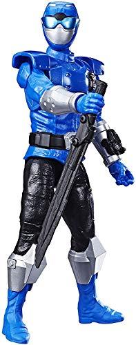 Boneco Power Ranger AZUL - Figura Articulada - Power Rangers - Beast Morphers - Beast-X - Blue Ranger AZUL - Hasbro