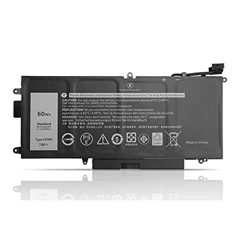 K5XWW N18GG 6CYH6 71TG4 725KY J0PGR Laptop Batterie Ersatz für Dell Latitude 5289 E5289 7389 7390 2-in-1 P29S001 P29S002 L3180 Latitude 12 5000 5289 P29S001 2-in-1 Ultrabook Notebook(7.6V 60Wh)