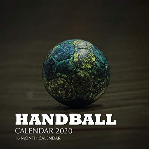 Handball Calendar 2020: 16 Month Calendar