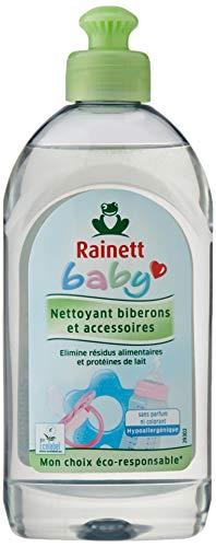 Rainett Detergente lavavajillas para biberones y utensilios de bebé - 300 ml