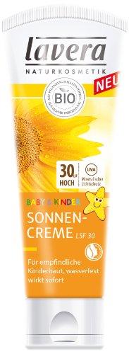 Lavera Baby & Kinder Sonnencreme LSF 30, 1er Pack (1 x 75 ml)