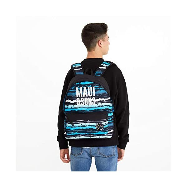 41ipxB9x7aL. SS600  - Maui And Sons Waves - Mochila, 42 cm, Multicolor