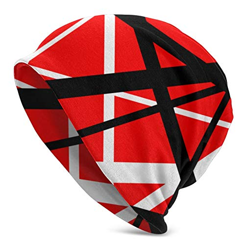 Van Halen Unisex Adult Slouchy Knit Beanie Hat Warm Skull Cap Black