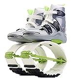 Scarpe da rimbalzo antigravità da donna, attrezzo ginnico per principianti per adulti, scarpe da canguro comode e traspiranti per bambini(Size:43)