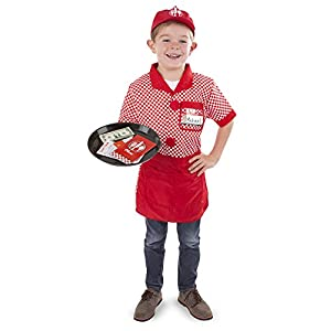 melissa & doug role play costume set – server - 41ipyRa3GZL - Melissa & Doug Role Play Costume Set – Server