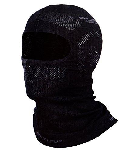 BRUBECK Gesichtsmaske Gesichtschutz Sturmmaske Sturmhaube Skimütze Windmaske (KOM-BRU) (L/XL)