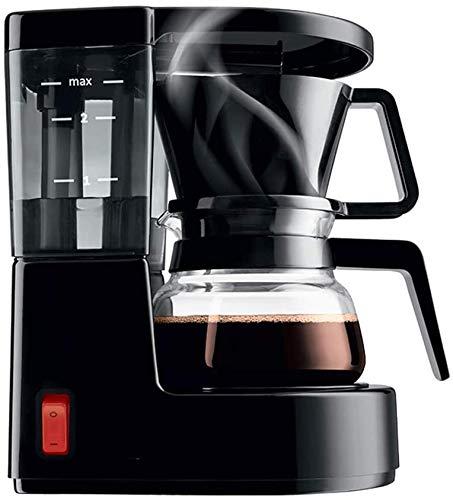 Kleine huishoudelijke koffiezetapparaat, drip-proof design, afneembare filter en het verwarmen van de plaat, 40 minuten warm, 0,35 liter Amerikaanse kant koffiezetapparaat vaatwasser tabbladen jilisay
