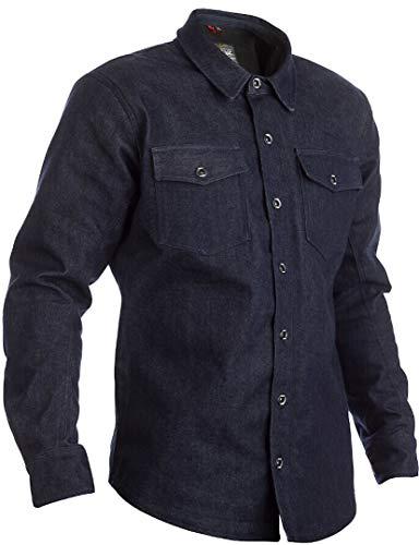 RST - Camisa vaquera Kevlar® de tela azul talla XXL para hombre