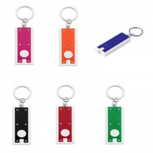 Lote de 100 Unidades de Llaveros Linterna LED - Pilas Botón Incluidas - Linternas, llaveros para detalles de bodas, regalos y recuerdos para hombres baratos y originales