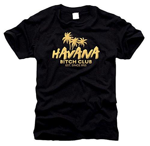 Havana Bitch Club Cuba - T-Shirt, Gr. L