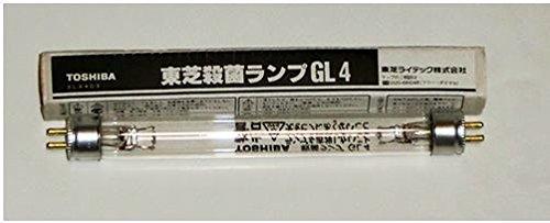 東芝殺菌灯交換球 4w(GL−4) 10本(1箱)