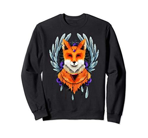Fox, Hand painted Fox Sweatshirt