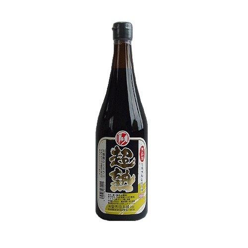 皇帝塩醤油(超熟)720ml 【再仕込み(本醸造)】