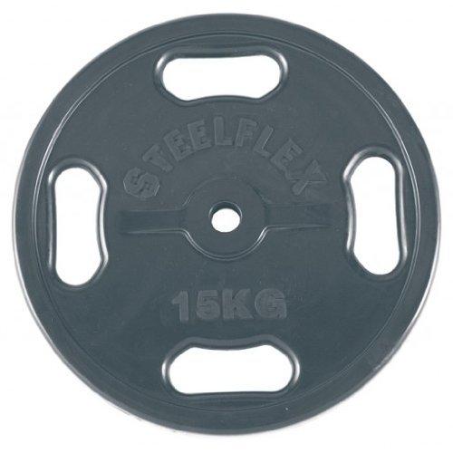 エバニュー 28φラバープレート15kg(2枚1組) ETB119