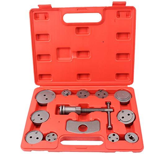 CCLIFE 13tlg Bremskolben Rücksteller Bremskolbenrücksteller Bremskolbenrückdreher Werkzeug KFZ