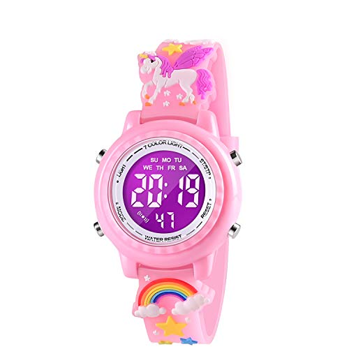 SUPZOE Gifts for Girls Age 3 4 5 6 7 8, Toddler Watch Popular Toy for 3 4 5...