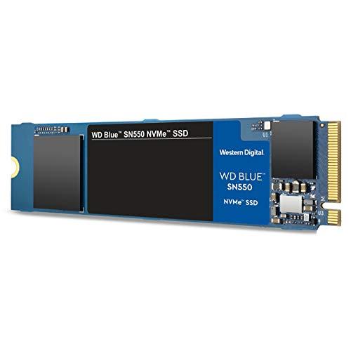 WD Western Digital Blue SN550 NVMe M.2 500 GB PCI Express 3.0 3D NAND - Western Digital Blue SN550 NVMe, 500 GB, M.2, 2400 MB/s, 8 Gbit/s