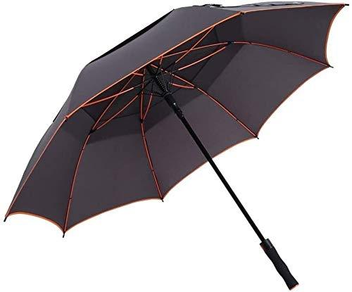 Folding Regenschirm Reise Große Windsicher Sunscreen Männer Frauen Golfschirm aufnehmen kann 2-3 Personen Anti-Rutsch-Matte Griff