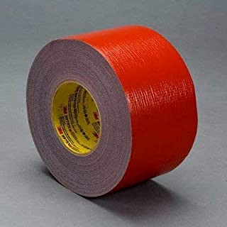 3M 8979N Red Duct Tape - 72 mm Width x 12.1 mil Thick - 53915 [PRICE is per ROLL]