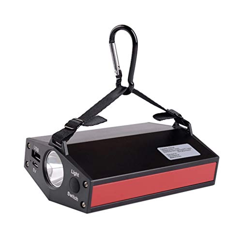 YSSMAO Tienda de campaña de la lámpara de 10W LED Recargable luz al Aire Libre 7200mAh Cargador de la Linterna Linterna Tienda de iluminación de Emergencia de Mano Luz