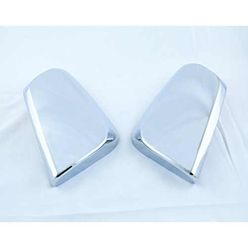 LJ INTERNATIONAL Quality Accessories Chrome Plated Top Mirror Covers Compatible with 2014&up Chevy Impala