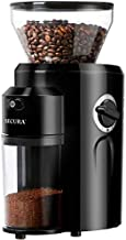 Secura Burr Coffee Grinder, Conical Burr Mill Grinder with 18 Grind Settings from Ultra-fine to Coarse, Electric Coffee Grinder for French Press, Percolator, Drip, American and Turkish Coffee Makers