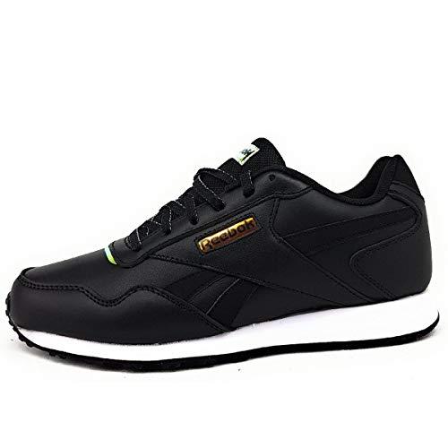 Reebok Royal Glide LX, Zapatillas de Running Mujer, Negro/Blanco/Negro, 40.5 EU