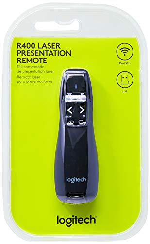Logitech Logitech Wireless Presenter R400 Tapones
