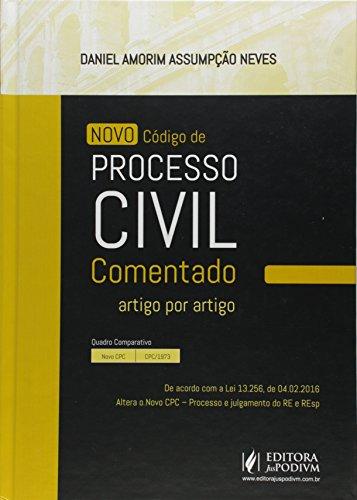 Novo Código de Processo Civil Comentado. Artigo por Artigo