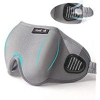 Travelmall Unique Light Blocking 3D Contoured Lightweight Eye Masks