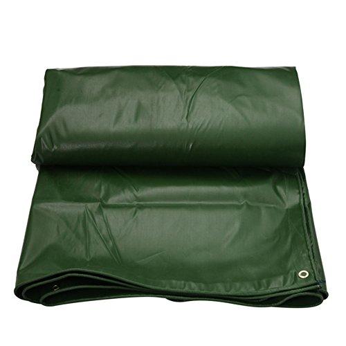 AJZXHE Plane gepolsterte Wasserdichte Sonnencreme Zelt Zelt Tuch Schuppen Tuch Abriebfest Anti-Oxidation leichte PVC grün -Plane (Farbe : Green, größe : 2x3m)