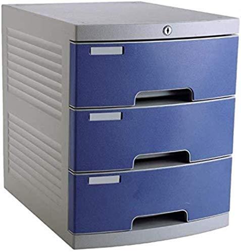Plat Bestand Kasten Office Desktop Lade Type File Manager Kantoorkast 3 Lagen A4 Kunststof Datakabinet Opbergdoos Opslag Home Office Meubels Opbergdoos