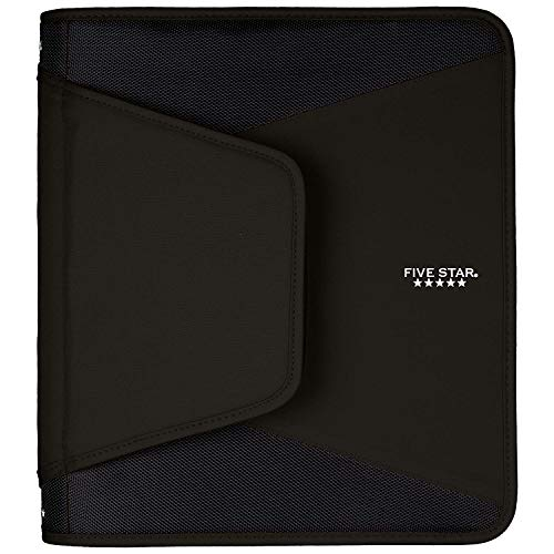 Five Star 1-1/2 Inch Zipper Binder, 3 Ring Binder, 3-Pocket Expanding File, Durable, Color Selected For You (28012) Photo #2