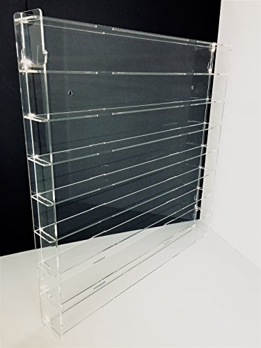 Técnicas Láser TR.4.2L8B/T Vitrina De Metacrilato, Transparente, 75 x 75 x 7 cm, Set de 13 Piezas