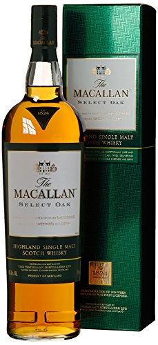 Macallan Select Oak 1824 mit Geschenkverpackung  Whisky (1 x 1 l)