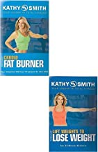 Kathy Smith 2 DVD Pack -- Timesaver Cardio Fat Burner and Timesaver Lift Weights to Lose Weight