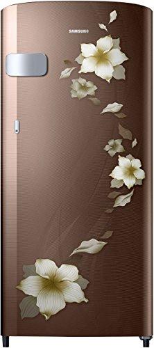 Samsung 192 L 2 Star Direct Cool Single Door Refrigerator(RR19N1Y22D2/HL, RR19N2Y22D2/NL, Star Flower Brown)