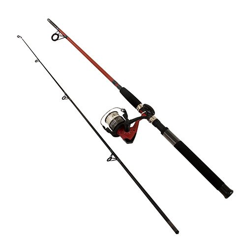 Shakespeare 1423951 Wildcat Spinning Combo, 7' Length, 2pc, 12-25 lb Line Raet, Medium/Heavy Power