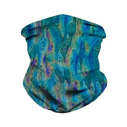 Skxinn Outdoor Schlauchschal UV Multifunktionstuch Schal Bandana Gesichtsschutz Stirnband Mundschutz Schlauchtuch Schal Multifunktionstuch für Unisex