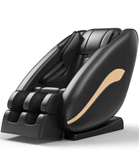 PIAOLIGN Cuerpo completo eléctrico masaje silla silla silla inteligente cuerpo completo multifuncional pequeño sofá hogar robot eléctrico gravedad cero espacio cápsula