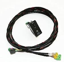 Fincos Original Car Play USB AUX CarPlay MDI USB AMI Install Plug Socket Harness for Golf 7 MK7 5G0 035 222 5G0035222 - (Color: ONE Set)