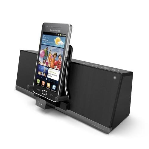 iLuv MobiAir Bluetooth Stereo Speaker Dock for Smartphones with ...