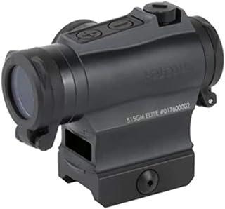 HOLOSUN Elite 65 MOA Circle/2 MOA Dot Reticle Green LED Dot Sight, Black, HE515GM-GR Elite
